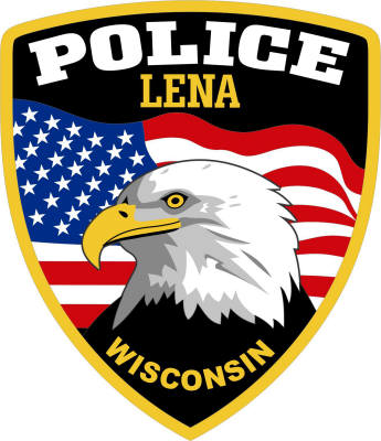 Lena Wisconsin Police Department Shield